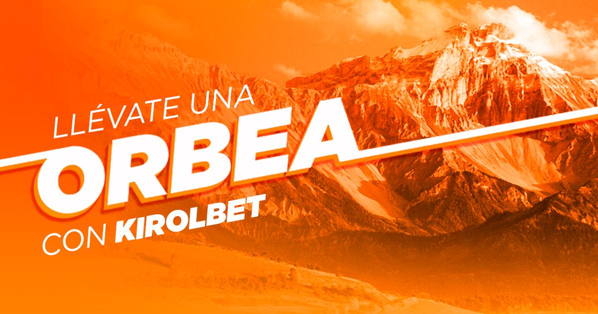 Promoción Kirolbet+Orbea